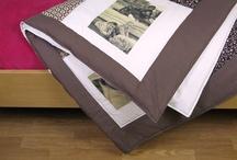 patchworková deka s fotografiemi