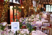 Ramster Hall, Surrey / Examples of theming and decoration for weddings and events at Ramster Hall in Surrey by Stressfreehire. With the exception of the inspiration images, all images are our own.