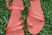 Handmade Goods / Handmade Leather Sandals