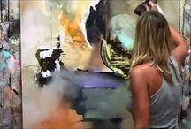 Mes toiles / Peinture