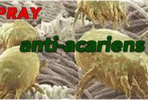 spray contre les acariens
