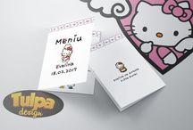 Meniuri pentru botez cu Hello Kitty / O petrecere de botez pentru o bebelușă merge perfect în combinație cu Hello Kitty.. Alege pentru petrecerea ta, pe lângă invitațiile de botez și plicurile de bani cu Hello Kitty, și aceste meniuri.  ▧Materiale folosite:      ~carton satinat alb 200g;  Meniul se poate personaliza la cerere, fără nici un cost suplimentar.  http://goo.gl/O59VMj