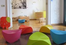 Playroom Decor and Furniture / Things that go with SoftTiles Interlocking Foam Mats Playroom Flooring.