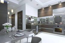 Μοντέρνες Κουζίνες / Κατασκευάζουμε εμείς στην Ελλάδα μοντέρνες κουζίνες σε όλα τα σχέδια και χρώματα για να δένουν αρμονικά με τον δικό σας χώρο.