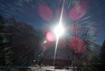 Sunny days in Chamonix