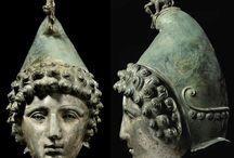 Ancient helmets Roman cavalry helmets face mask helmets / Roman cavalry helmet - Roman parade helmet - Roman gladiator helmet - Roman face mask helmet