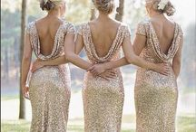 New Year's Eve Wedding / This wedding is the perfect NYE party! Full of gold and sparkle, it's bound to impress your guests.