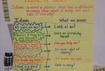 School Stuff - Language Arts / Reading, grammar, literature, thinking, writing, poetry - so many skills to learn! / by Sandee Rodriguez