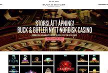 Buck&Butler casino / Buck & Butler er en av de nyeste spillsidene, og er verdt en besøk! På nettsiden finner du alle slags spilleautomater, bordspill og poker, og snart kommer det t.o.m. en oddsavdeling! Les vår anmeldelse om den nye og stilige spillside her: http://www.norskcasino.com/buck-butler-casino/