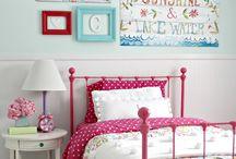 Big Girl bedroom ideas  / by Renee Schweizer Kruger