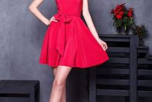 Красные коктейльные платья | Red cocktail dresses / Красные коктейльные платья. Бренд GraceEvening. В наличии. Шоу-рум ул. Двинцев, 4. Ежедневно. ☎ +7 (495) 973-11-33