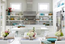 Cool Kitchens / by House of Turquoise