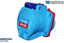Marechal Industrial Plugs & Sockets / Marechal plugs, sockets and decontactors for low voltage power supply include standard, industrial, high current and hazardous areas decontactors with ATEX certification.