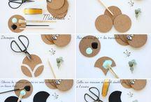 ~DIY ≡ Déco chambre~ / ~De belles idées de DIY pour décorer sa chambre ~ Des tutoriels simples à faire soi même~