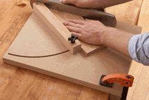 Jig, mallar / Jig for woodworking, mall för snickeri