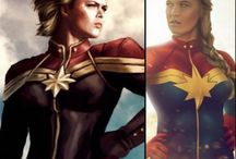 Ms Marvel / Captain Marvel