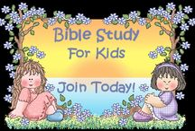 Bible Study for Kids / Online Bible Studies for kids - printable activities, lessons & devotions We hope you enjoy our online Bible study!