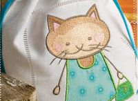 Tips and Ideas for Machine Embroidery / by Peggy Aull