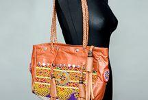Boho, tribal, ethnic bags