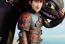 HTTYD ^_^ / Hiccup and Toothless <3