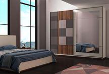 Mozaik Yatak Odası / Yatak Odası İzmir Ervada Mobilya