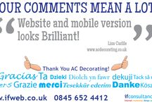 Customer Testimonials / Read what our customers have been saying