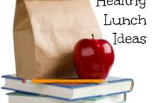 School Lunch Ideas / by Emily Ayers