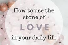 Crystals & Stones | Meanings & Decor / Crystal and stone meanings, decor and how to incorporate them into your daily life!