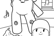 Spanish Coloring Pages / color your favorite spanish characters from tv shows and cartoons!