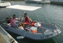 Whaly Boats 370 / Embarcacion utilizable para cualquier persona mayor de 18 años;  apta para 6 personas.