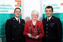 Rushcliffe Community Awards / Unsung heroes in Rushcliffe who won a Community Award.  Rushcliffe Borough Council values the outstanding performance and dedication of people and groups who make their community a better place to be - but they do it voluntarily. The photos are of 2014 winners and 2013 winners.