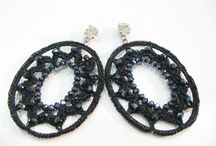 Dream fashion jewelry - Embroidered earrings