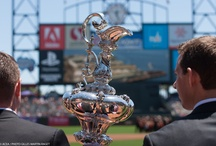 America's Cup Day at AT&T Park with the SF Giants
