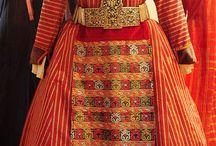 Thraki traditional costumes