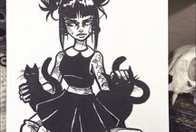 Dark Illustration