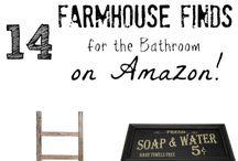 Farmhouse Restroom Ideas