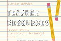 School Garden Teacher Resources