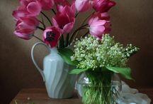 blomme &vase