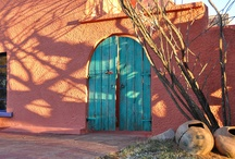 Decorating: Desert Style / I love this style....hot dry deserts, the vibrant colors of earth and sky, beautiful native images, turquoise and cacti everywhere.  / by Kay