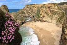 DAY TRIPS - NEWQUAY, NORTH CORNWALL / Newquay and surrounding places including Crantock Beach, Fistral Beach, Tolcarne Beach, Watergate Bay, Whipsiderry Beach.  About 53 miles (1 hr 25 mins drive) from us.