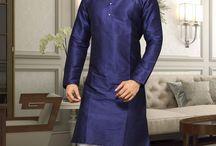 Indian mens traditional kurta pajama set / Are you looking for Indian mens traditional outfits. Check this board to get daily dose of Indian men kurta pajama set inspirations