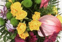 Fleurs fraîches de la boutique de fleurs <3