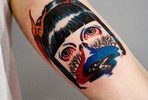 Martyna Popiel / Tattoo by: © Martyna Popiel - Poland. More tattoo artists on www.tattoolook.com