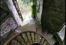 Abandonment: staircases