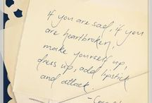 {Quotes} / by Caroline Johnston