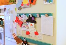 kids art displays