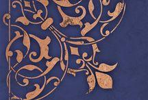 stencil sarok / corner