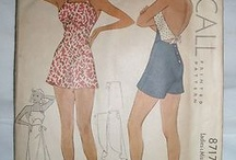 Vintage sewing patterns / by Sarah Magill
