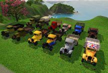 Sims 3 Autos