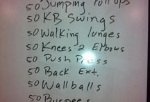 Workouts / by Alaine Ducharme